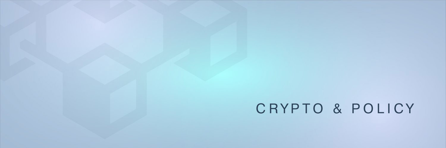 crypto and policy banner